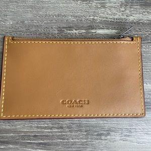 NWT Coach card wallet